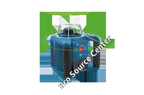 Bosch Grl300hvg Self Leveling Green Rotary Laser With