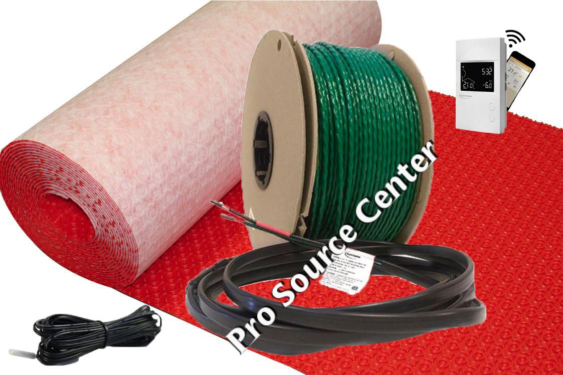 Schluter Ditra Heat 120v Heating Cables Pro Source Center