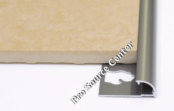 Round Edge Tile Trim In White Or Beige Pvc By Tiles R Us