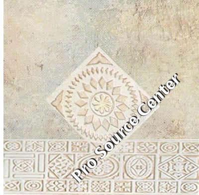 Cascate Floor Ceramic Tile Inch X Inch Pro Source Center - 13 inch floor tiles