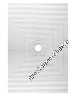Pro 48 X 72 Inch Shower Pan For Shower Systems