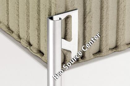 Schluter RONDEC Finishing   Edge Protection Profiles   Stainless Steel