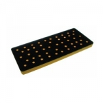 AirVantage 3 x 7 Inch Many Hole Screen Abrasive Back Up Pads
