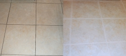 Cleaning Between the Tiles