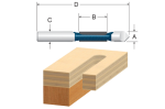 Bosch Pilot Panel Bit with Drill-Through Point - Two Flutes