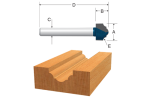 Bosch Carbide Tipped Classical Router Bits