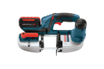Bosch 18V Compact Band Saw with 2 FlatPack Batteries