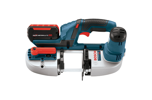 18V Lithium Ion Compact Band Saw with L-Boxx3 by Bosch