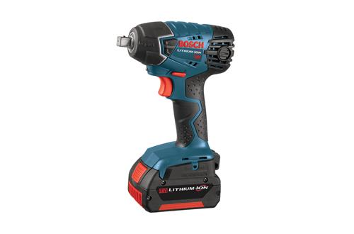 24618-01 18v Impact Wrench with Fat Pack Batteries by Bosch