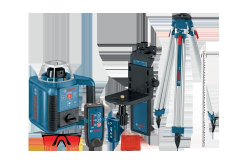 GRL300HVCK Self Leveling Rotary Laser Complete Kit by Bosch