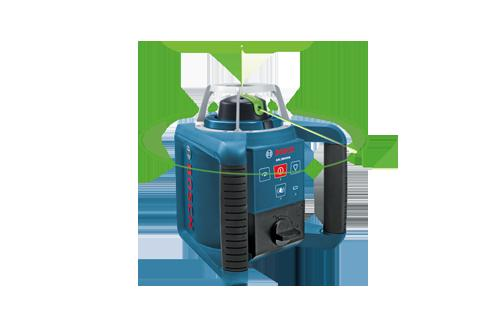 GRL300HVG Self Leveling Green Rotary Laser with Layout Beam by Bosch