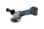 Bosch 18V 4 1 2 Angle Grinder with 2 FlatPack Batteries