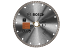 Bosch DB742SD 7 Inch Standard Turbo Rim Diamond Blade with DKO