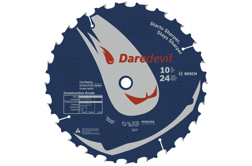 10 Inch 24 Tooth Fast Ripping Diamond Blade by Bosch