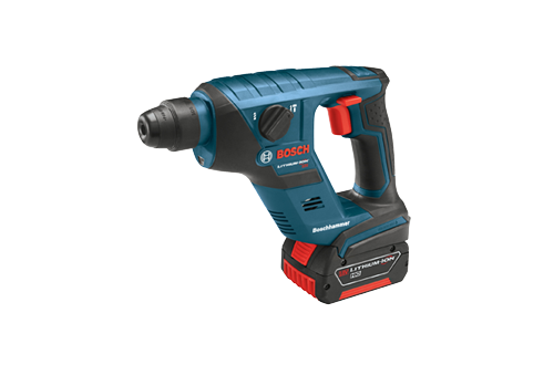 18V Compact Rotary Hammer with 3 0ah Battery by Bosch