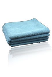 62-501 Micro Cloth Microfiber Polishing Cloth 4 Pack by CSI