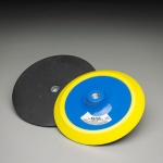 Carborundum 8 Inch 8 Hole BackUp sander Pad