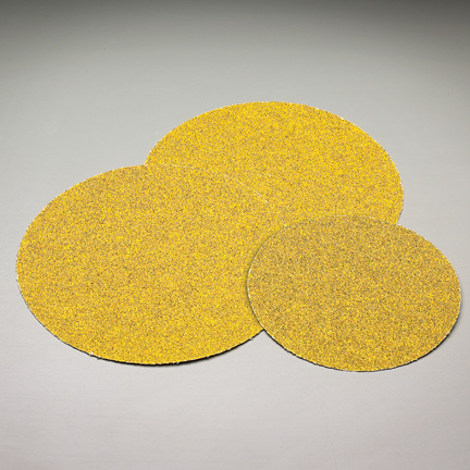 Carbo Gold Blank Discs 6 Inch Grits 40 and 80 by Carborundum Abrasives