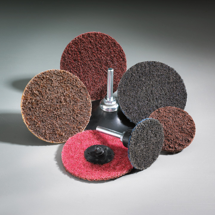 Fibratex Nonwoven Surface Blending Discs 2 Inch by Carborundum Abrasives