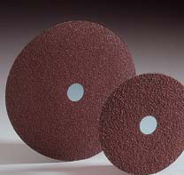 Merit Ceramic Resin Fiber Discs 7 Inch by Carborundum Abrasives