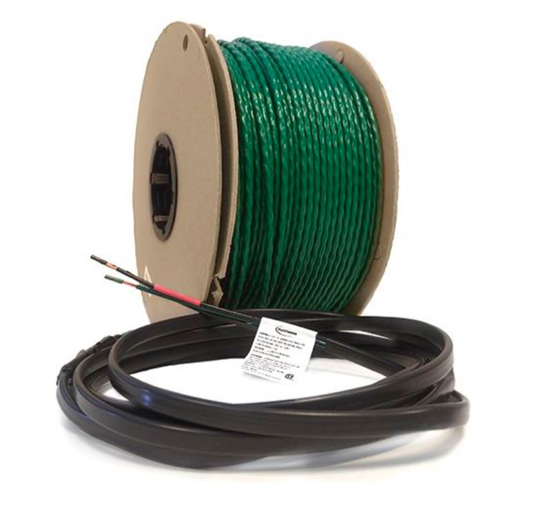 Green Cable Surface XL 240 VAC Radiant Heat Wire by FlexTherm