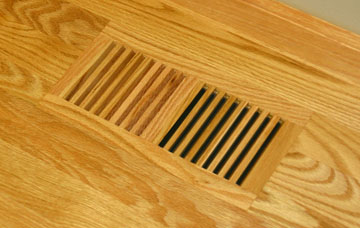 Wood Vent Floor Register Trimline Flush Frameless by Grill Works