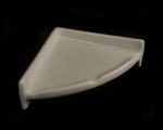 HCP Ceramic Corner Shelf Unit for Shower CS77 - Limited Colors and QTY