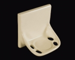 HCP Ceramic Toothbrush Holder Flatback TB44FB