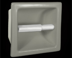 Ceramic Recessed Tissue Holder 6x6in TT66R by HCP Industries