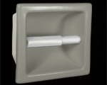 HCP Ceramic Recessed Tissue Holder 6x6in TT66R