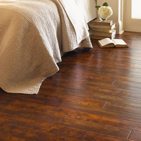 Cascade Wide Plank Textured Surface Oak Wood Floor by Harris Wood