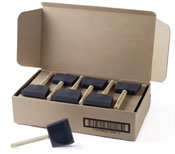Poly Brush 3 Inch By Jen Manufacturing 36 Brushes 1 Box by Jen Manufacturing
