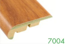 7004 6-9mm MDF Wood Grain Stair Edge Molding by Loxcreen