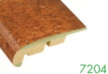 7204 12-14 mm MDF Cork Stair Edge Molding by Loxcreen