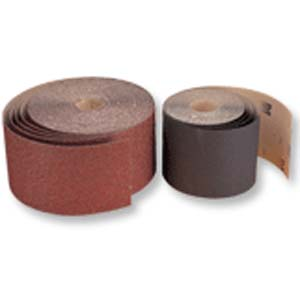 12  x 25 YD Silicon Carbide Floor Sanding Rolls ea by Mercer Abrasives