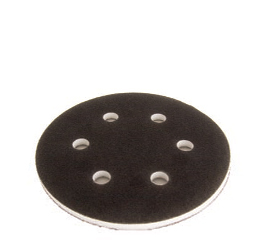 1066 6 Inch 6 Hole Hook n Loop Interface Pad 1 2 Inch Thick by Mirka Abrasives