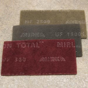 Mirlon Total 4 5 x 9 Inch Scuff Pads by Mirka Abrasives