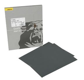 9 x 11 Waterproof Finishing Sheets 80-150 Grit Box of 25 by Mirka Abrasives