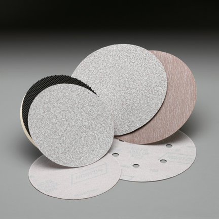 A275 NorGrip 6 Inch 6 Hole Vacuum Discs Grits 1000 - 1500 by Norton Abrasives