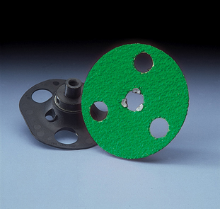 AVOS SpeedLok GreenLyte Grinding Disc 5 Inch Grits 24 - 50 by Norton Abrasives