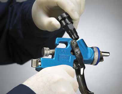 Paint System Spray Gun Adapters by Norton Abrasives