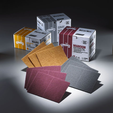 BearTex Scuff Pads 6 x 9 Inch by Norton Abrasives