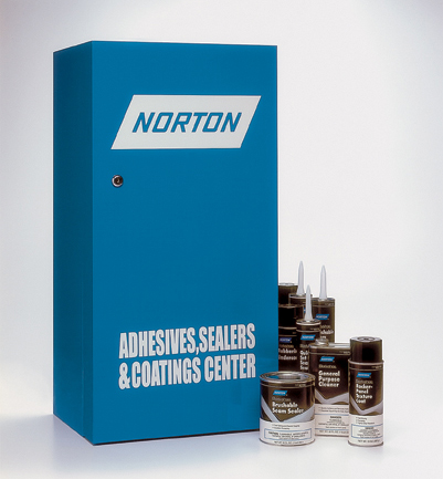 Adhesives and Sealers Cabinet by Norton Abrasives