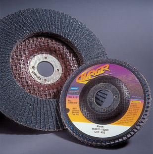 Charger R822 Flap Discs 4 x 5 8 Inch by Norton Abrasives