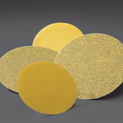 Gold PSA Coarse 6 Inch Discs Grits 36 - 80 by Norton Abrasives