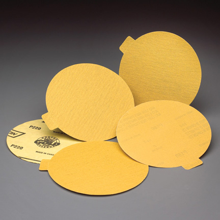 Gold Reserve PSA Tabbed 6 Inch Discs Grits 80 - 400 by Norton Abrasives