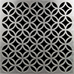 PSC Pro Stainless Steel Drain Grate Cover - Lattice Design