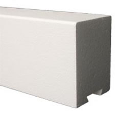 Pro Solid 3 Foot Shower Curb by Pro-Source Center