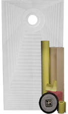 Pro ABS 32 x 60 Offset Drain Shower Waterproofing Kit by Pro-Source Center