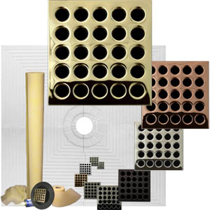 Pro Advanced 48 x 48 Custom Tiled Waterproofing Shower Kit ABS or PVC by Pro-Source Center